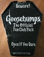 1995 Fan Club black coffin case front
