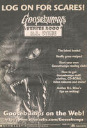 Log on for Scares web circa 1999 bookad from s2000 16