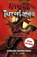 Welcome to Camp Slither - Portuguese Cover