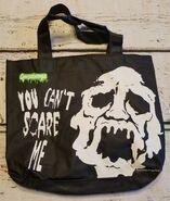 Goosebumps You Cant Scare Me 90s black tote bag