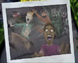 Horrors chasing people from the Goosebumps HorrorLand teaser.png
