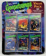 GB Audio Books Value Pack 6 Cassettes in pkg front