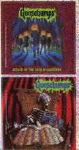 Goosebumps 48 Attack of the Jack O Lanterns metallic stickers