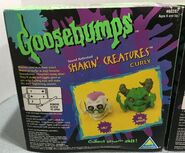 Curly The Horror Shakin Creatures box back