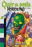 Chair de Poule Horrorland 04 Le Cri du Masque Hanté (Version 1)