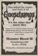 OS 29 Monster Blood III bookad from OS28