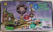 One Day Horrorland 1996 Board Game Box back