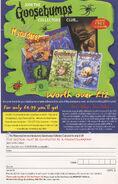 Collectors Club UK version bookad from 52 UK orig 1stpr 1998