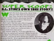 It Came from Ohio ad from Scream Newsletter Sep Oct 1996