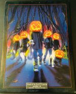 48 Attack Jack o Lanterns Lithograph