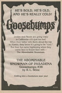 OS 38 The Abominable Snowman of Pasadena bookad from OS37