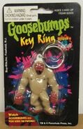Abominable Snowman Key Ring keychain in pkg Buy-Rite