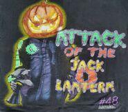 48 Attack Jack o Lanterns shirt detail
