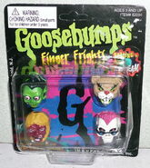 All 4 Finger Frights rings in box front