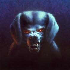 The Barking Ghost - artwork