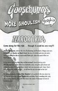 Graphix 2 Terror Trips bookad from Graphix 1 2006