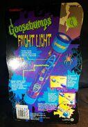 GB Fright Light flashlight Tiger in pkg back