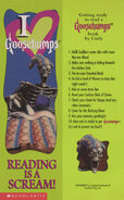 OS 40 Night Living Dummy III bookmark front and back Curly