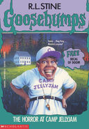 OS 33 Horror at Camp Jellyjam cover 1stprint w Free Decal