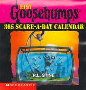 1997 Goosebumps 365 Scare-A-Day Caelndar (Front Cover)