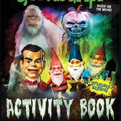 Goosebumps Activity Book