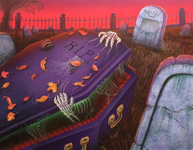 The Curse of the Creeping Coffin (Full Art)