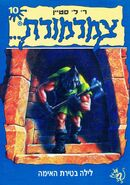 A Night in Terror Tower - Hebrew Cover - לילה בטירת האימה