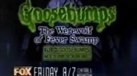 Goosebumps Promo- The Werewolf of Fever Swamp (1996)