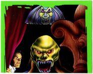 11 Haunted Mask 1996 Merlin 59 sticker