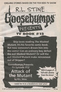 Presents TV ep 12 Attack of Mutant bookad from OS54 1stpr 1997