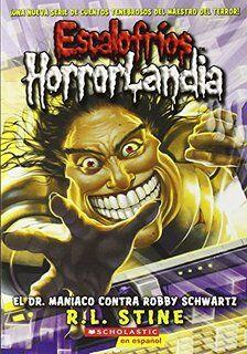 Dr. Maniac vs. Robby Schwartz - Spanish Cover.jpg