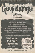 Presents TV ep 03 Welcome Camp Nightmare bookad from OS44 1996