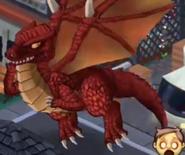Sparkles dragon in game