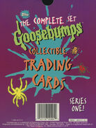 Topps Complete Trading Cards Series One box back