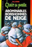 Chair de Poule Abominables Bonshommes de Neige