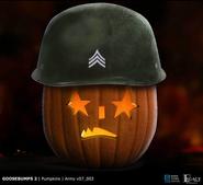 Goosebumps 2 army pumpkin