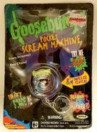 05 Mummy Pocket Scream Machine keychain in pkg