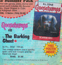 OS 32 Barking Ghost ad May 1995 Scholastic Arrow
