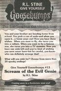 GYG 13 Scream Evil Genie bookad from OS50 1996 1stpr