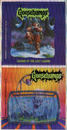 Goosebumps 47 Legend of the Lost Legend metallic stickers