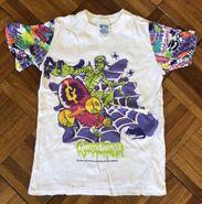 Mummy Skateboard Short Eddies sleeveptrn T-shirt front