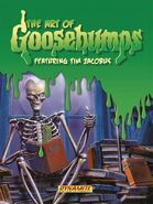 The Art of Goosebumps Pre-Release Cover