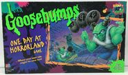 One Day Horrorland 1996 Board Game Box front
