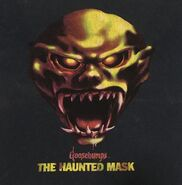 11 Haunted Mask only gradient title blue 90s T-shirt detail