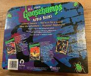 GB Audio Books Value Pack 3 Cassettes Mutant Shocker Terror back