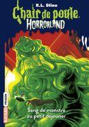 Chair de Poule Horrorland 03 Sang de Monstre au Petit Déjeuner (Version 2)