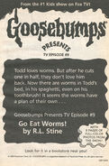 Presents TV ep 09 Go Eat Worms bookad from OS51 1997 1stpr