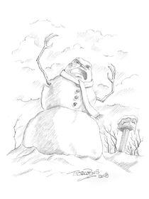 Beware, The Snowman 2018 sketch