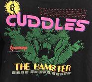 Cuddles Turn Up Scare black T-shirt TC detail