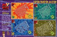 Goosebumps TV trading cards back TotallyKids Mag Autumn 1997